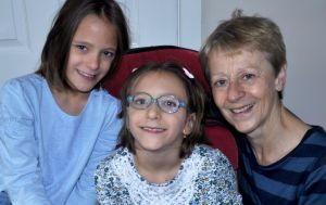 Emily  and Charlotte Wormald with their grandmother June
