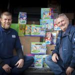 Delsol Driver Stuart Reid and Gelicity Managing Director Wayne Walton