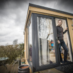 Stuart Haynes, a systems accountant for a global banking firm, swapped the daily commute along the M56 into Manchester for an office in the garden of his home in scenic Flintshire