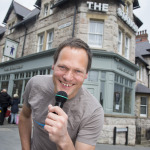 Award-winning comic David Rothnie holds Stand-Up @ The Seaside at The Station in Colwyn Bay on May 27